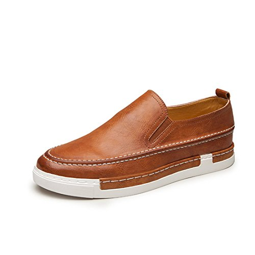 Mens Casual Slip On Boat Shoes Classic Driving Loafers Sneaker 925 Brown E9Fc6Bi