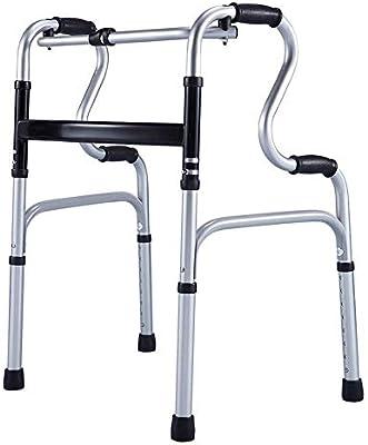 LBYMYB Plegable Walker Ancianos Walker Aluminio de Doble Uso ...