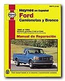 camionetas ford - Haynes Publications, Inc. 99075 Repair Manual (Spanish version)