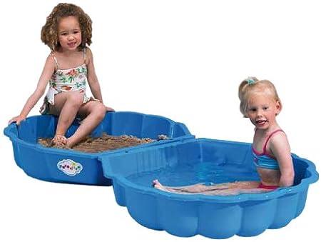 Paradiso Toys T00752 - Arena o agua cáscara de 2 piezas 86 x 80 x 20 cm azul , color/modelo surtido
