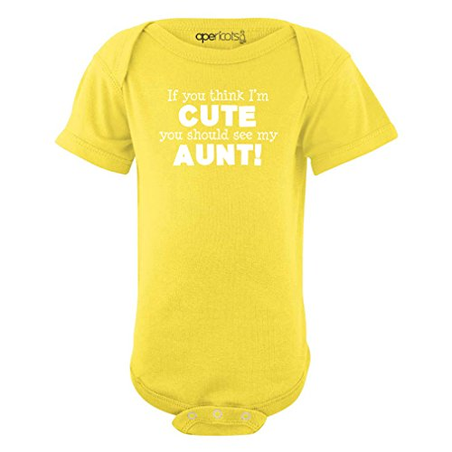 My Aunt Loves Me Onesie - 6