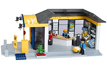 Playmobil  Les Commercants Bureau De Poste