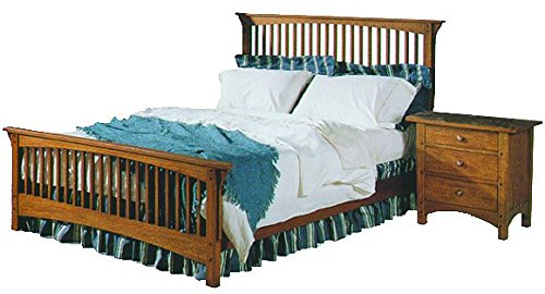 Build-Your-Own Mission Bed and Nightstands Plan - American Furniture Design