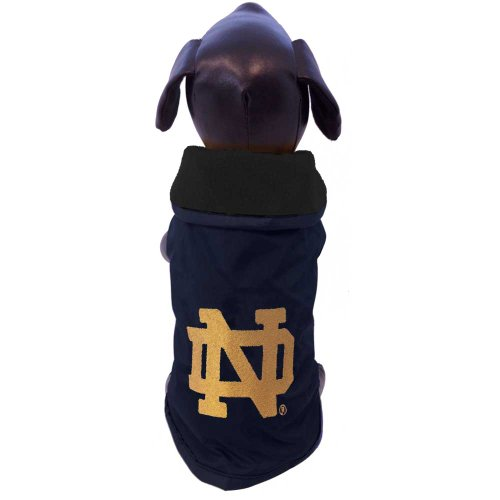 NCAA Notre Dame Fighting Irish All Weather Resistant Protective Dog Outerwear, X-Small