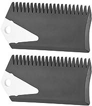 Surfboard Wax Comb Surf Wax Set Fin Wax Comb Surfboard Wax Surf Board Wax Scraper Cleaning Remover Comb Tool f