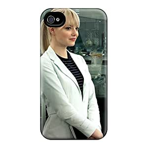 Cute Tpu Phone Case Emma Stone As Gwen Stacy Case Cover For Iphone 5/5s