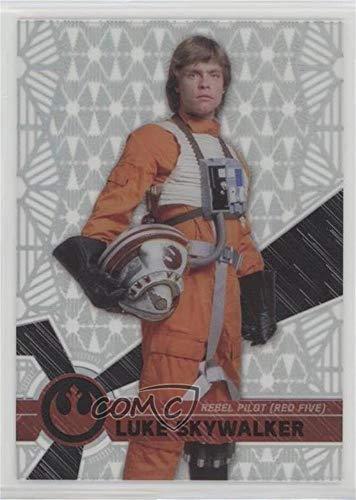 Luke Skywalker (Trading Card) 2017 Topps Star Wars High Tek - [Base] - Pattern 2#15 - Luke Skywalker Pattern