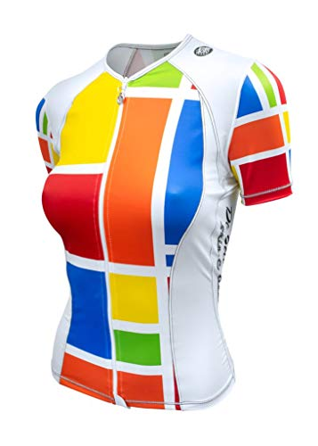 De Soto Femme Skin Cooler Tri Top - Short Sleeve - WFVSC1-2019 (South Beach Mondrian, ()