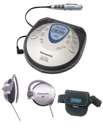 Panasonic SL-SV600J - CD player - radio / CD - black, silver