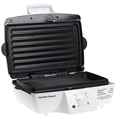 Hamilton Beach 25295 Indoor Contact Grill with Removable Grids