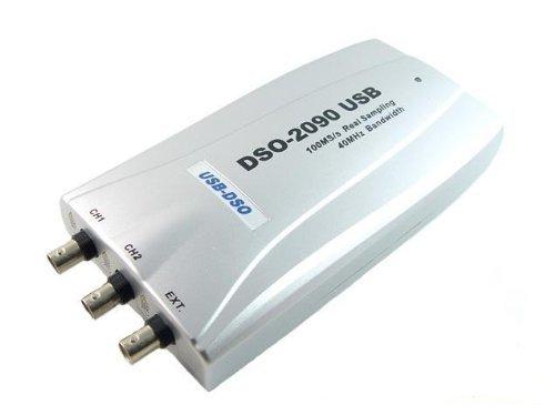 100MS/s PC Based USB Digital Storage Oscilloscope, DSO 2090