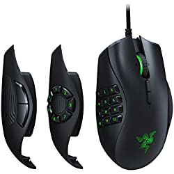Razer Naga Trinity: True 16, 000 5G Optical Sensor - 3 Interchangeable Side Plates - Chroma Enable - Gaming Mouse
