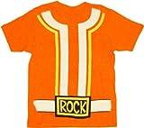 Yo Gabba Gabba DJ Lance Costume Adult Orange T-shirt