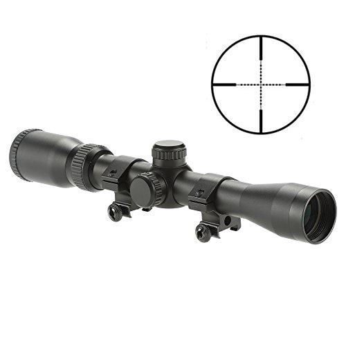 Pinty Pro 3-9X32 Mil-dot Tactical Rifle Scope Optics Optical Scope for Hunting w/Aircraft-grade Aluminum Alloy Tube, Waterproof/Fog Proof