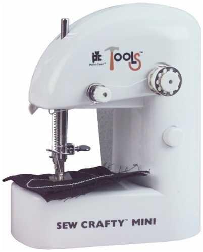 Amazon Sew Crafty Mini Sewing Machine White Beauteous Mini Sewing Machine Use
