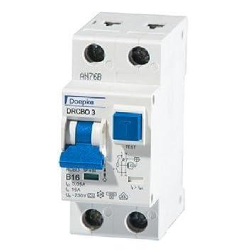 Doepke FI/LS-Kombination DRCBO3 B16/0,03: Amazon.de: Elektronik
