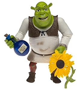 Shrek 2 - Holiday Donkey Action Figure w/ Puss In Boots and Shrek ...