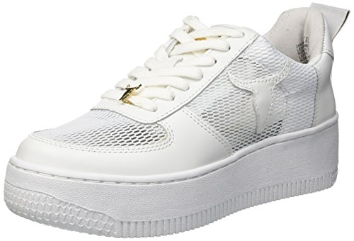 White Racerr Smith Donna 001 Windsor Bianco Sneaker q6vXd5nwt
