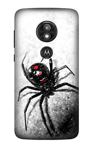 R2386 Black Widow Spider Case Cover for Motorola Moto E Play (5th Gen.), Moto E5 Play, Moto E5 Cruise (E5 Play US Version)