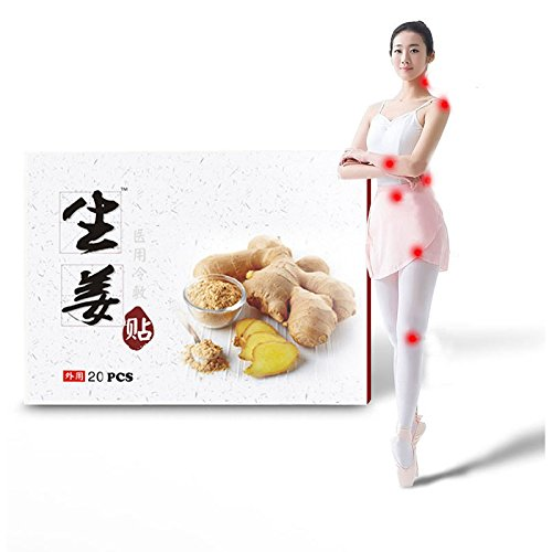 iLOVEPandas Natural Wormwood Stickers Chinese Traditional Moxibustion Health Paste Pain Relief Self-Heating Moxa Pads (Style 2,20pcs) by iLOVEPandas (Image #5)