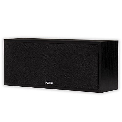 Best Price Acoustic Audio PSC-43 Center Channel Speaker 150 Watt 3-Way Home Theater Audio