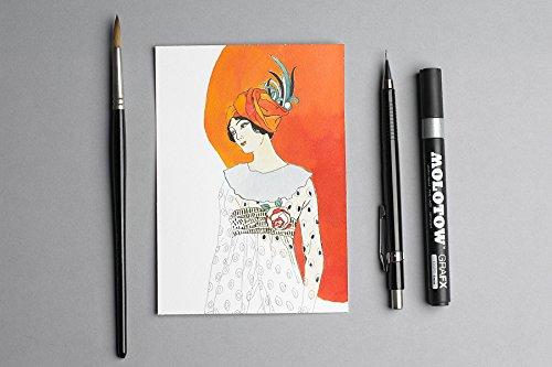 Artists' Colouring Postcard Art Deco Fashion Photo #2