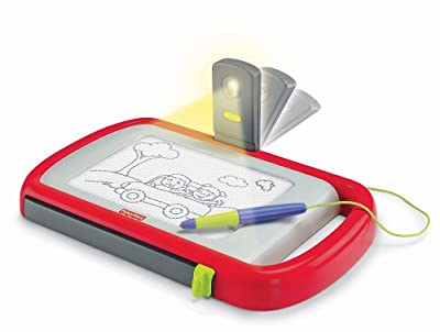 Fisher Price Kid Tough Travel Doodle Pro With Light by Fisher Price