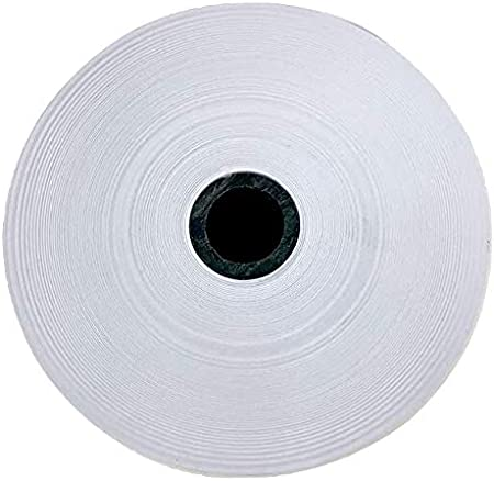 Top of the Line 20 lb. Monroe Systems for Business Single Ply Bond Paper Rolls