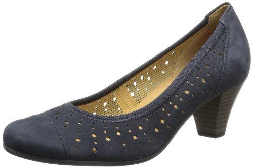 Gabor Women's Court Shoes Blue Size: 9 kmJufAe