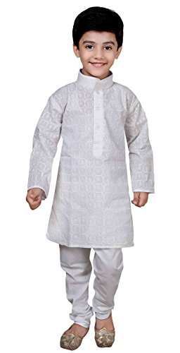 Boys Indian Cotton Sherwani Kurta Churidar Salwar Kameez for Bollywood party 845 A2 (12 ( 12 yrs), - Picture Boys Pakistani