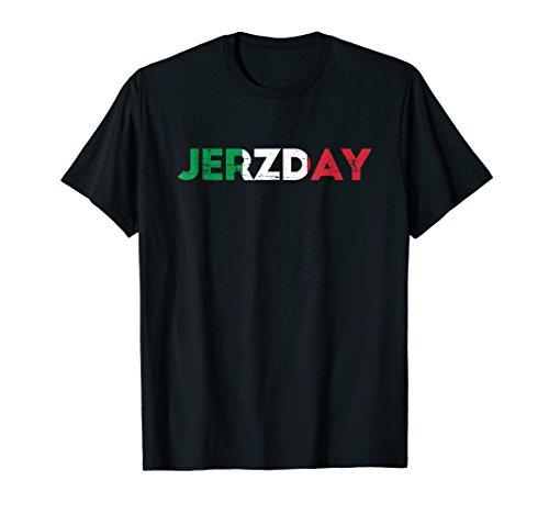 Jersey Jerzday Shore T Shirt Italian Party Funny]()
