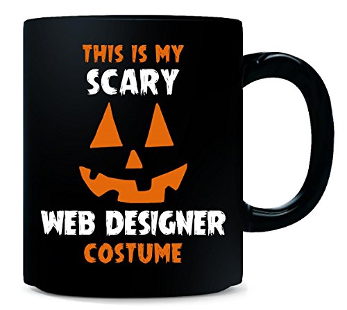 This Is My Scary Web Designer Costume Halloween Gift - Mug