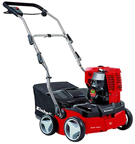 Einhell GE-SA 1335 P Petrol Scarifier/Aerator with 35 cm Working Width, Red