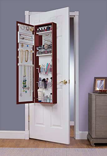 hard armoire combination over makeup mirrored make white doors vanity mirror door and the jewelry