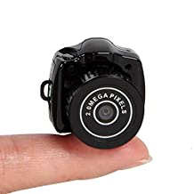 Happy Hours® New Portable Smallest Mini Thumb-size HD 1280*1024 Camera Camcorder Video Recorder Dv Dvr 640*480 Hidden Pinhole Spy Web Cam (Memory Card Is Not Included)