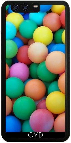 Funda de silicona para Huawei P10 Plus - Bolas De Colores by Warp9