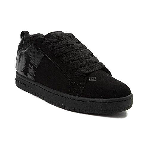 パワー肩をすくめる盆(ディーシー) DC 靴?シューズ メンズスケートシューズ Mens DC Court Graffik Skate Shoe Black Monochrome ブラック モノクローム US 9 (27cm)