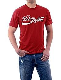 Funny Enjoy Bob Dylan Parody Classic Logo Men's T-Shirt