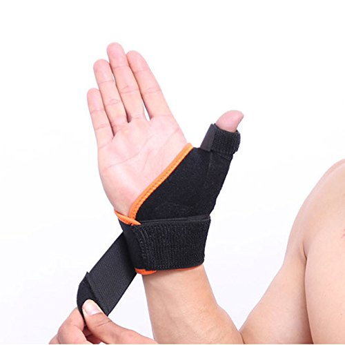 Adjustable Arthritis Thumb Splint Support Finger support gloves (Right) ()