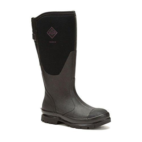 Muck Boot Women's Chore Wide Calf Rain Boot Black 9 Medium Shaft ()