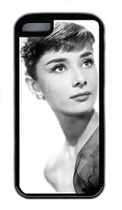 diy phone caseAudrey Hepburn iphone 6 plus 5.5 inch TPU Black Case, Designer iphone 6 plus 5.5 inch case Audrey Hepburndiy phone case