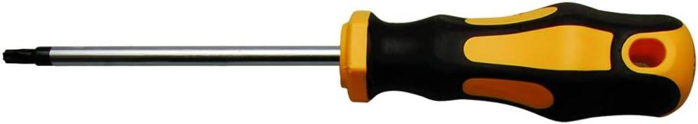Schraubendreher Klingenl/änge 150 mm Kraftmann 7844-T45 f/ür Torx T45 T-Profil