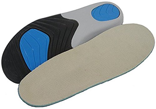 Optimal Full Orthotic Arch Support Motion Control Insole with Met Pad by Ciabatta's (Women's 7-8 / Men's 6-7)