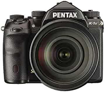 Pentax 1599300 K-1 II Digital Full Frame SLR Camera with HD DFA 24-70 mm Lens - Black