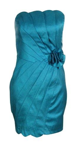 Jessica McClintock Women's Rosette Seam Sheath Dress
