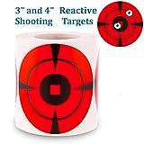 Splatter Target Stickers 200 Mega-Pack 4-Inch