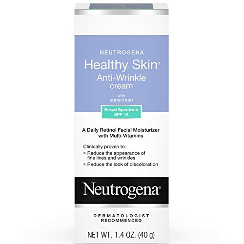 Neutrogena Healthy Skin Anti-Wrinkle With Sunscreen SPF 15 1.40 oz (Pack of 3)