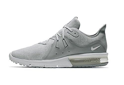 Nike Air Max Sequent 3 Hombres Corriendo Wolf Grey / White-pure Platinum