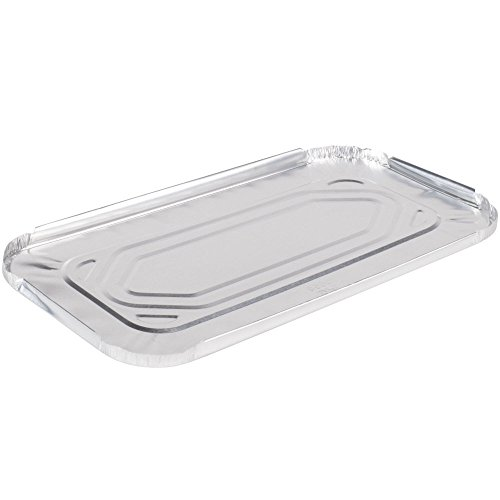- 1/3 Size Foil Steam Table Pan Lid - 100/Case