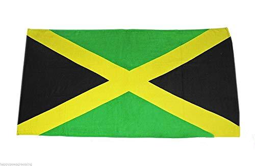 Jamaica Jamaican 30 x 60 Beach Towel (Cotton Twill) (Jamaican Beach Towel)
